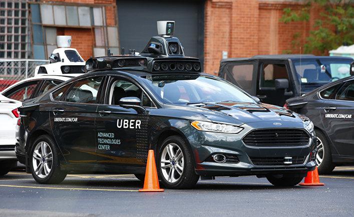 Беспилотный автомобиль Ford разработки компании Uber