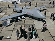 Беспилотное летательное средство на авиакосмическом шоу в Фарнборо, Великобритания