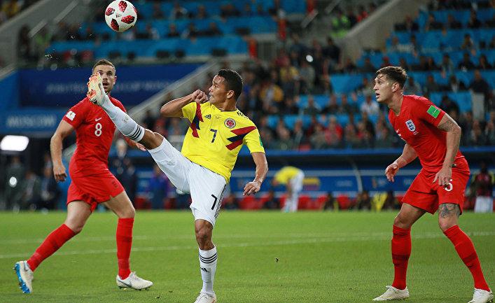 Футбол. ЧМ-2018. Матч Колумбия - Англия