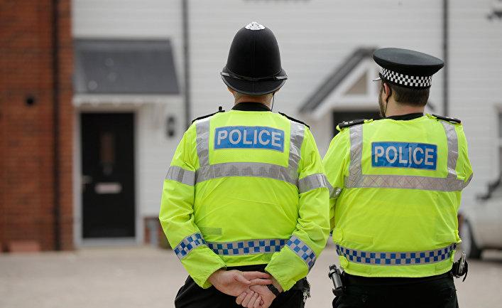 Британские полицейские