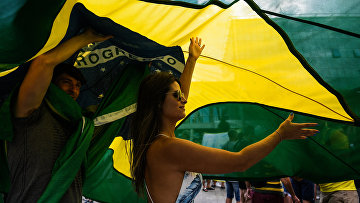 Прилет сборной Бразилии в Казань