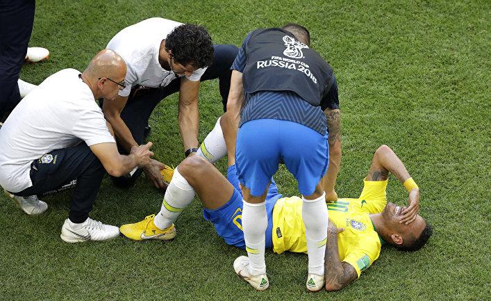 Бразильский футболист Неймар