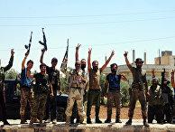 Сирийские военные в провинции Дараа
