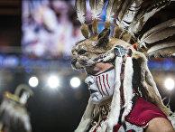 Фольклорный фестиваль индейцев Gathering of Nations в Альбукерке. 25 апреля 2015