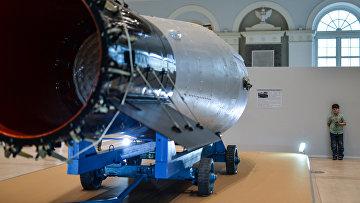 """Копия водородной бомбы АН - 602 """"Царь-бомба"""". Архивное фото"""