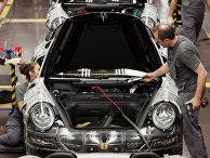 Фабрика Porsche в Штутгарте