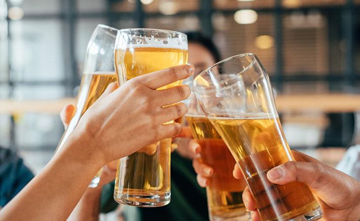 Пиво с друзьями