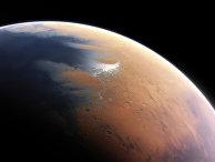 Так Марс мог выглядеть около четырех миллиардов лет назад