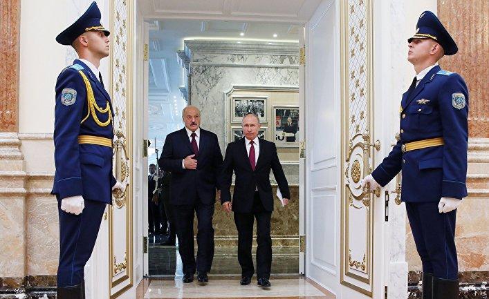 Заседание Высшего Государственного Совета Союзного государства в Минске