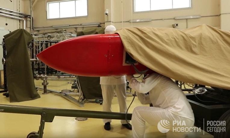 Испытания крылатой ракеты с ядерным двигателем «Буревестник»