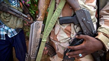 Военный в Центральноафриканской республике