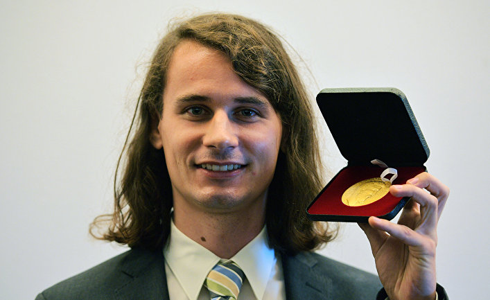 Немецкий математик, лауреат Филдсовской премии Петер Шольце