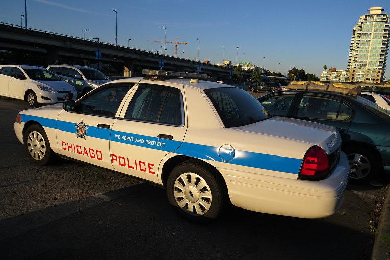 Полицейская машина, Чикаго, США
