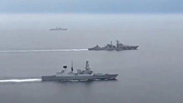 Путин демонстрирует силу в Ла-Манше