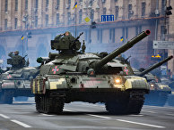 Военный парад по случаю 25-летней годовщины со Дня Независимости Украины