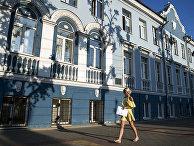 Прохожая на улице Воронежа