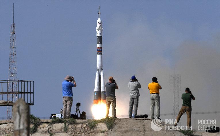 """Запуск ТПК  """"Союз МС-09»"""