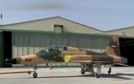 Иран представил первый отечественный истребитель