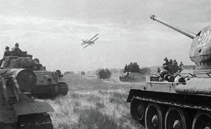 Советские войска ведут боевые действия в первый день войны с Японией