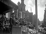 Маршал Советского Союза И.С.Конев в Праге