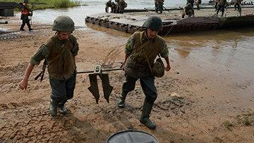 Военные учения в Приморском крае