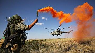 Тактические учения ЮВО в Волгоградской области