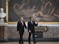 Официальный визит президента РФ В. Путина в Париж