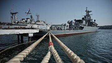 Военно-морская база Черноморского флота РФ в Севастополе
