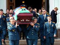 Прощание с главой ДНР Александром Захарченко