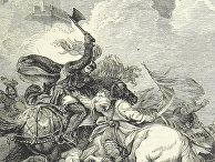 Ричард I в битве при Яффе
