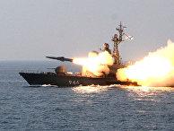 Тихоокеанский флот провел морские учения ракетных катеров
