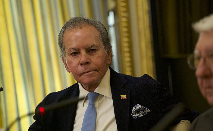 Венесуэльский дипломат Диего Арриа