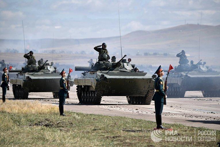 Рабочая поездка президента РФ В. Путина в Забайкальский край