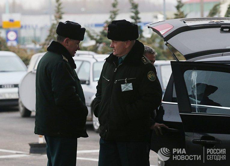 """Таможенный пост """"Багратионовск"""" в Калининградской области"""