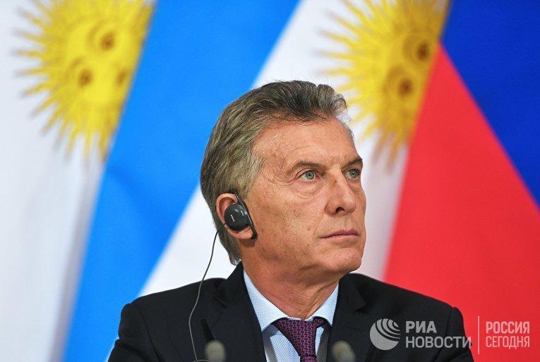 Аргентинской Республики Маурисио Макри в Москве