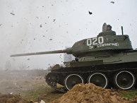 "Танк Т-34 музея-заповедника ""Сталинградская битва"""