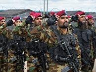 Военнослужащие вооруженных сил Пакистана в Чебаркуле