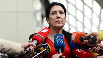 Депутат парламента Грузии Саломе Зурабишвили