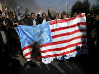Акция протеста в Тегеране