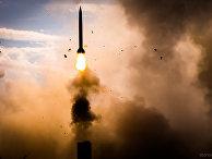 Зенитно-ракетная система С-300 ПМУ «Фаворит» в действии