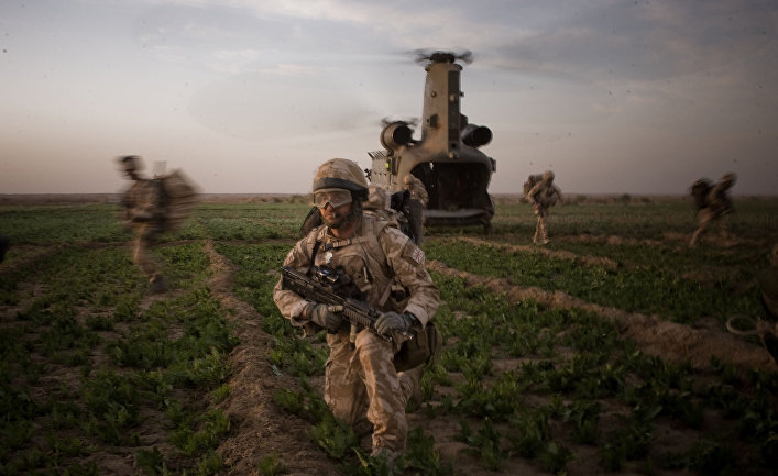 Королевские морпехи в Афганистане