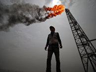 Нефтегазовое месторождение в Басре, Ирак