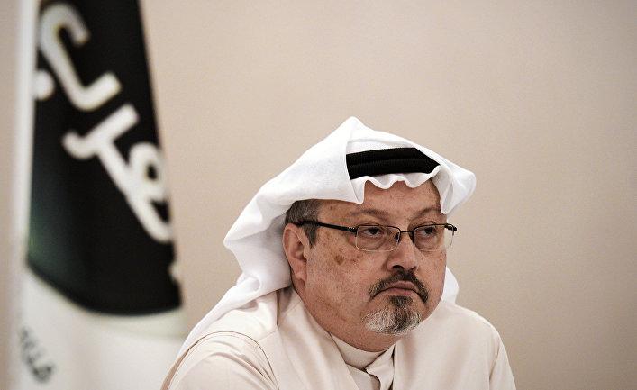 Саудовский журналист Джамал Хашоги