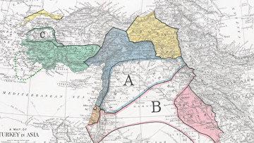 Sykes-Picot Division