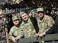 Учения Вооруженных сил Украины на побережье Азовского моря