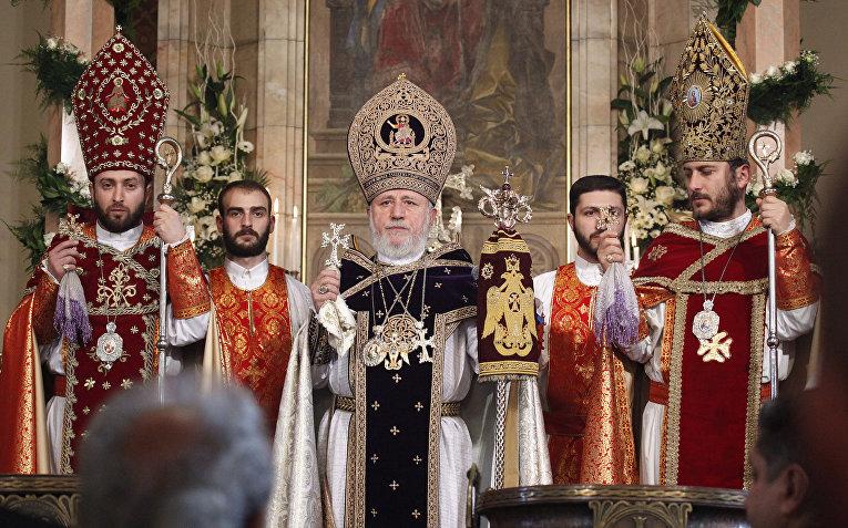Верховный патриарх и католикос всех армян Гарегин II
