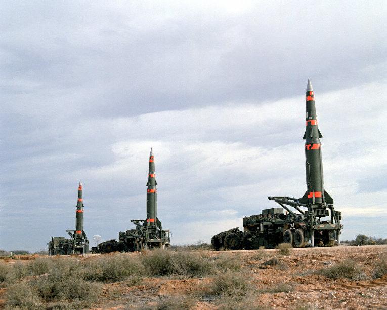 Баллистические ракеты средней дальности Pershing II