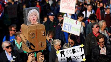 Акция протеста в Лондоне, Великобритания