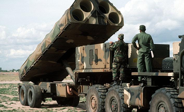 Американский ракетный комплекс средней дальности BGM-109G Gryphon