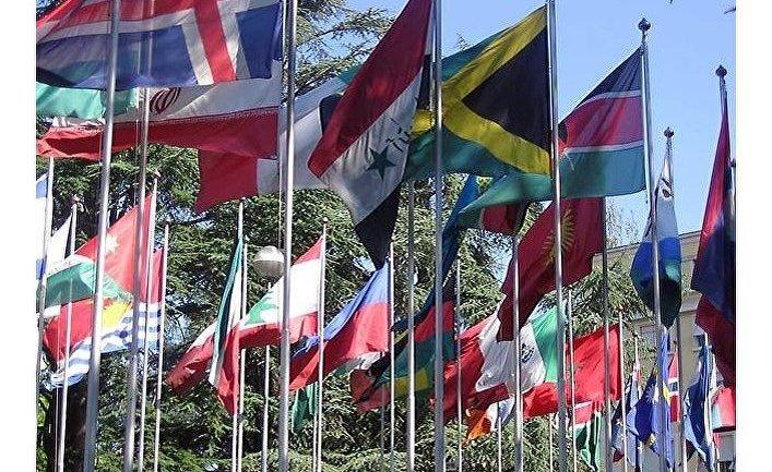 флаги ООН